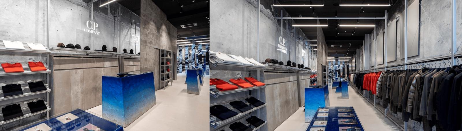 Открытие нового магазина C.P. Company /Нидерланды/