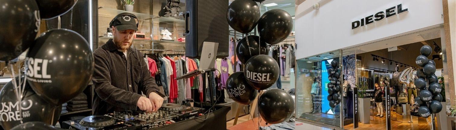 Магазину Diesel исполнилось 4 года!
