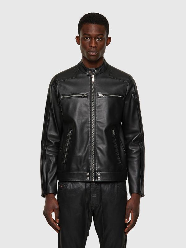 Куртка кожаная Diesel L-BOY