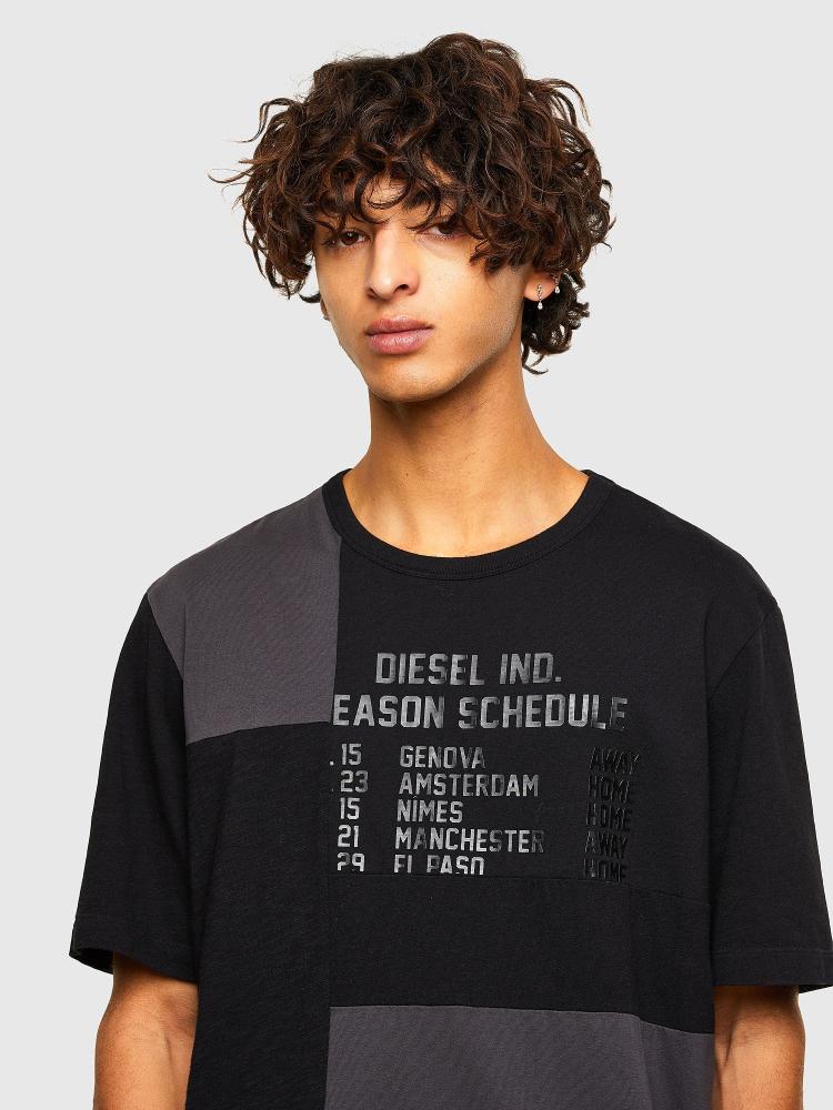 Майка Diesel T-ATCHWORK
