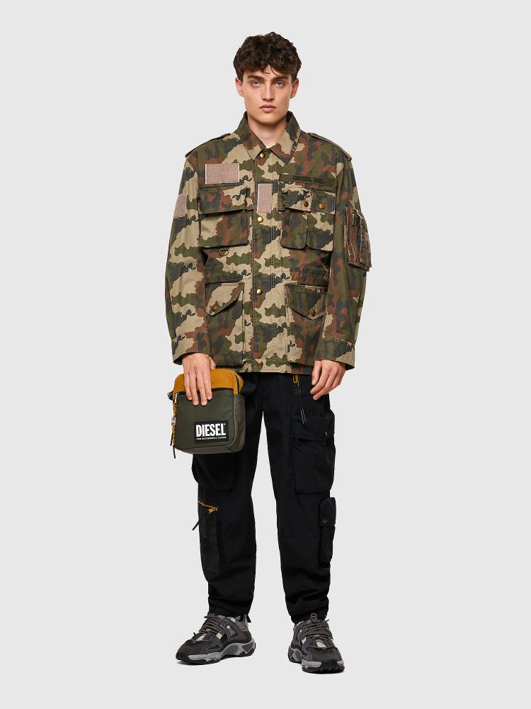 Куртка с камуфляжным узором Diesel J-LOYD-CMF