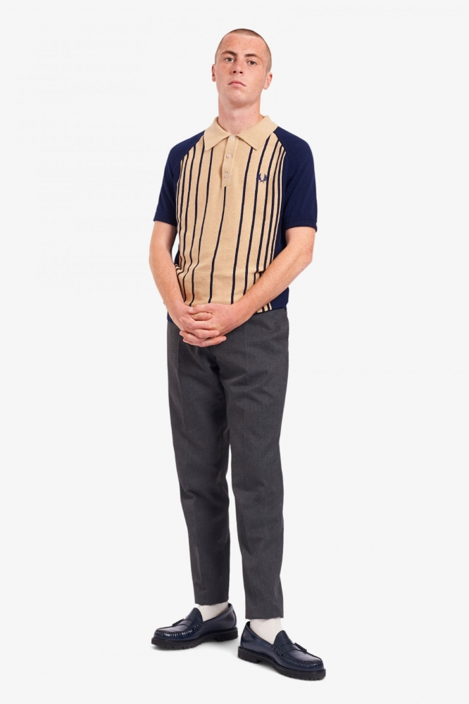 Поло вязаное FRED PERRY