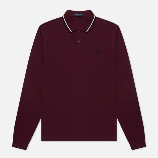 Поло длин.рукав FRED PERRY